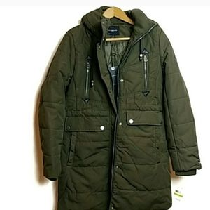 Lucky Brand | NWT Cozy Faux Fur Olive Green Parka